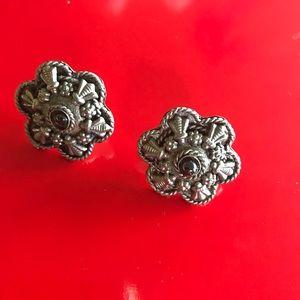 Silver Beautiful Design Earrings